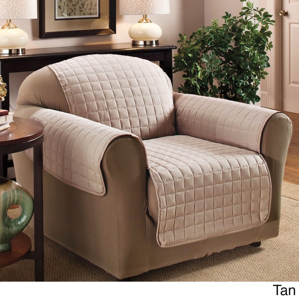 Luxury Quilted Furniture Protector for Chair