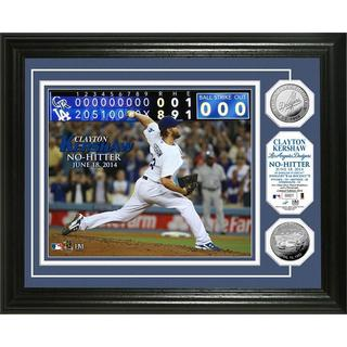 MLB Clayton Kershaw No-Hitter Silver Coin Photo Mint