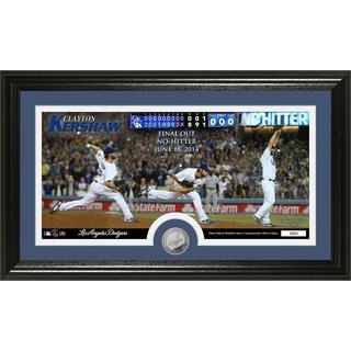 MLB Clayton Kershaw No-Hitter Minted Coin Panoramic Photo Mint
