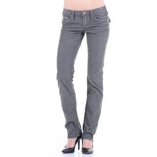 Stitch's Women's Low Rise Lightweight Straight Leg Jeans