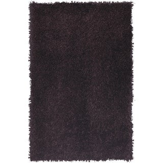Christopher Knight Home Soleil Dark Plum Shag Area Rug (5' x 8')