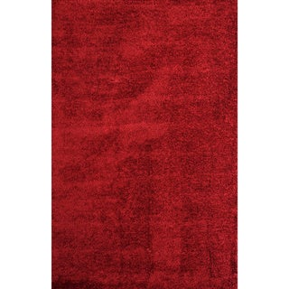 Christopher Knight Home Soft Shag Ruby Red Area Rug (5' x 8')