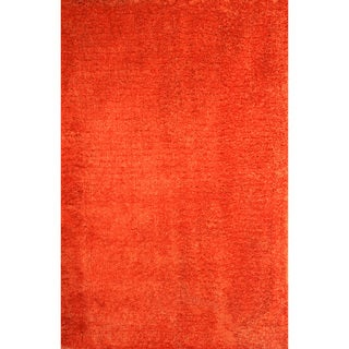 Christopher Knight Home Soft Shag Orange Crush Area Rug (5' x 8')