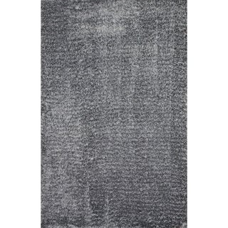 Christopher Knight Home Soft Shag Gun Metal Grey Area Rug (5' x 8')