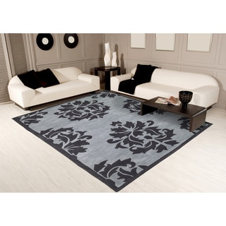 "Christopher Knight Home Trio Damask Blue Area Rug (5' x 7'6"")"