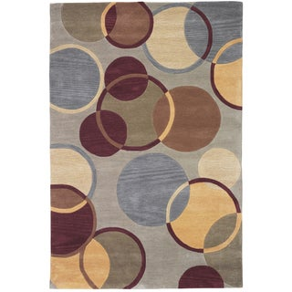Christopher Knight Home Trio Bounced Green Area Rug (1'10 x 2'10)