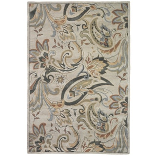 Christopher Knight Home Trio Sunroom Green Floral Area Rug (1'10 x 2'10)