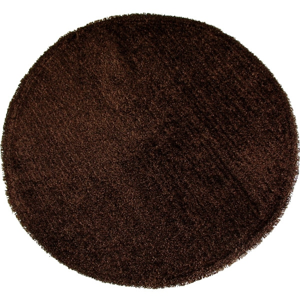 "Christopher Knight Home Goa Chocolate Super Thick Shag Area Rug (7'6"" Round)"