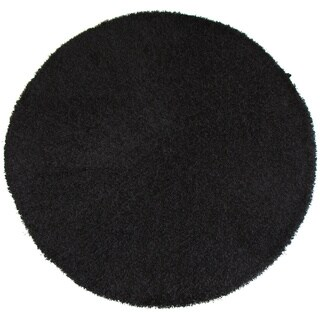 "Christopher Knight Home Goa Charcoal Super Thick Shag Area Rug (7'6"" Round)"