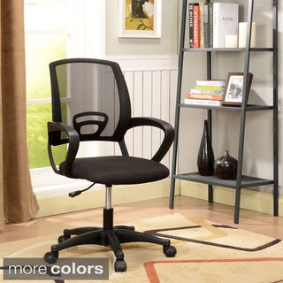 Mesh Fabric Adjustable-height Office Chair