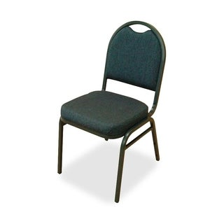 Lorell Round Back Stack Chairs (Set of 4)