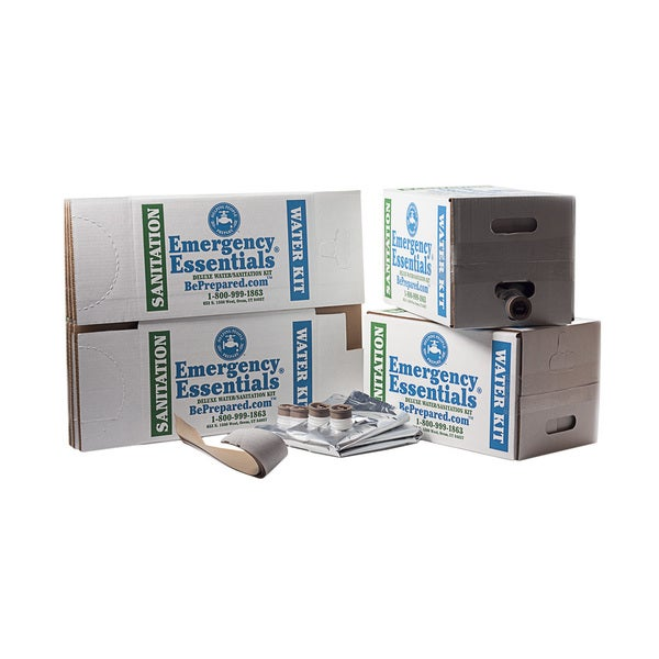 Emergency Essentials Basic 25-gallon Boxed Water Kit