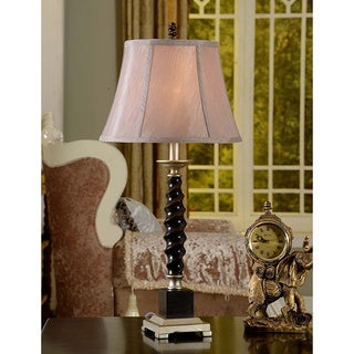 Coffee Brown Twisted Table Lamp (Set of 2)