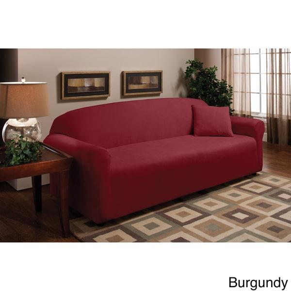Stretch Microfleece Sofa Slipcover