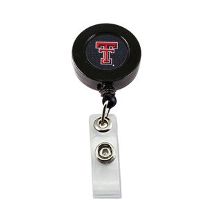 NCAA Texas Tech Red Raiders Retractable ID Badge Holder Clip