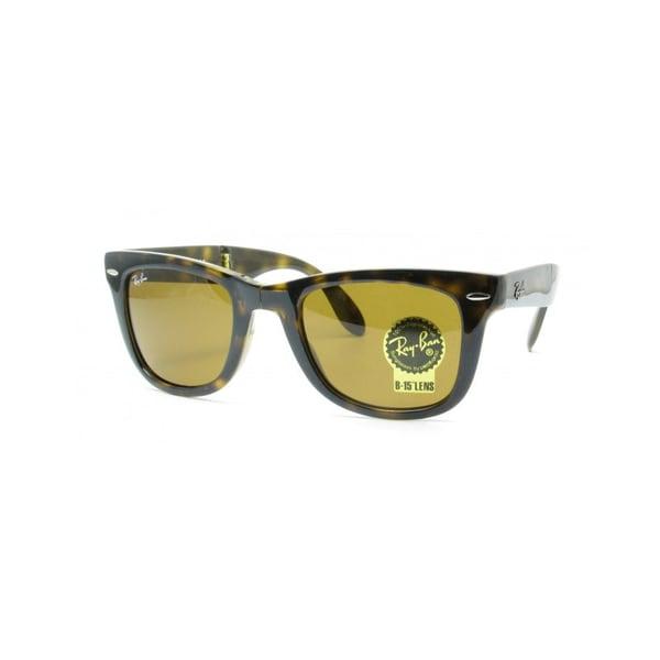 Ray-Ban 'RB4105' Folding Wayfarer Unisex Sunglasses
