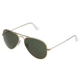 Ray Ban Unisex RB3025 Unisex Aviator Sunglasses