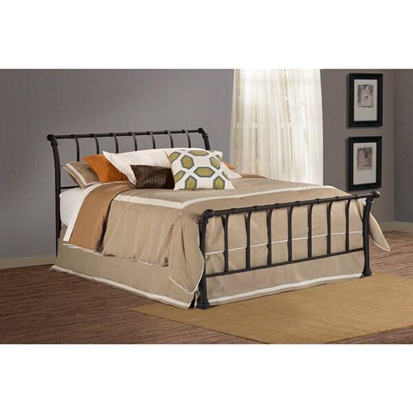 Janis Textured Black Bed Set