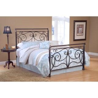 Brady Antique Bronze Bed Set