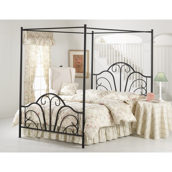 Dover Textured Black Bed Set