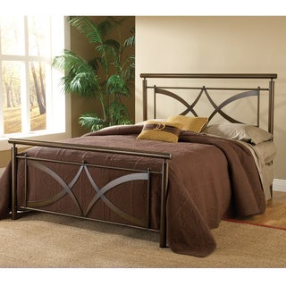Marquette Brushed Copper Bed Set