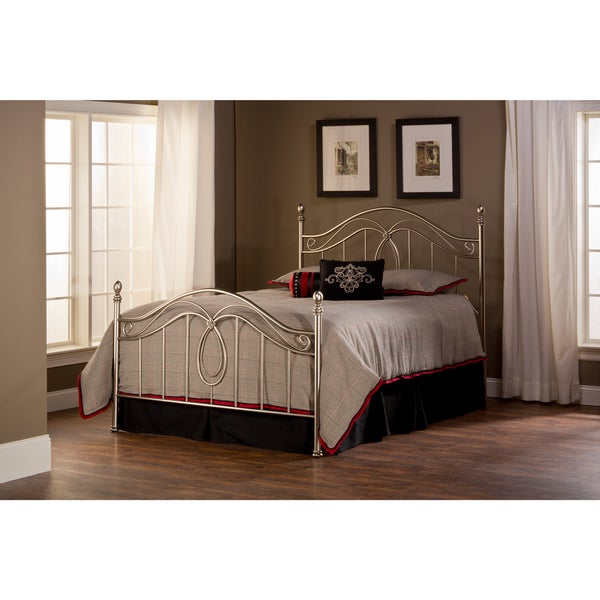 Milano Antique Pewter Bed Set
