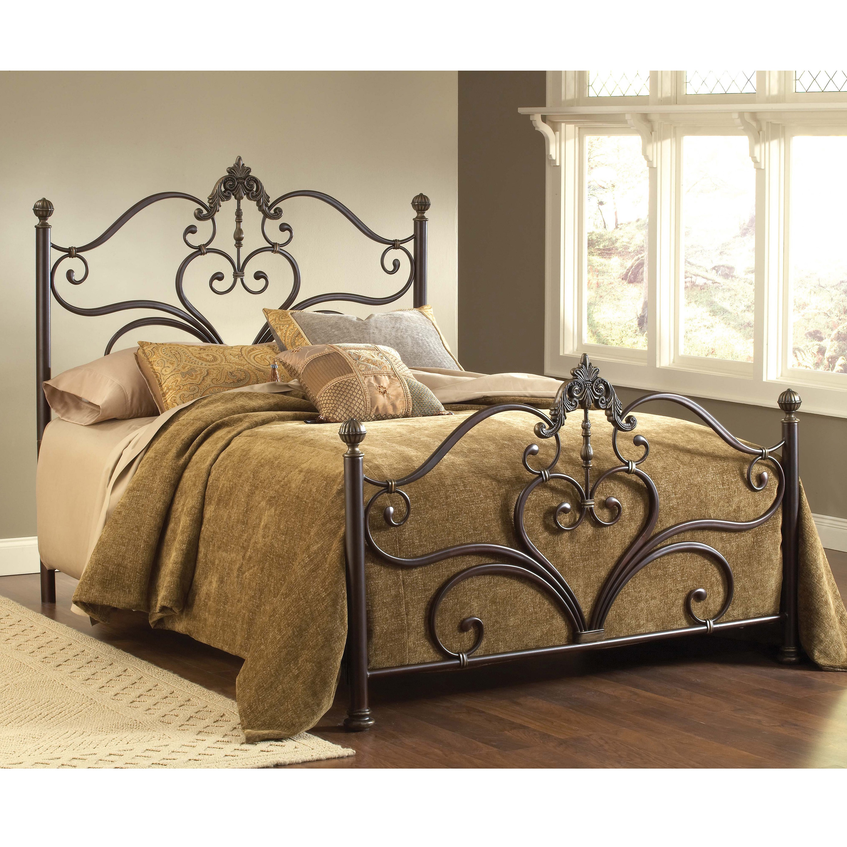 Hillsdale Newton Antique Brown Bed Set at Sears.com