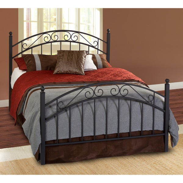 Willow Textured Black Bed Set