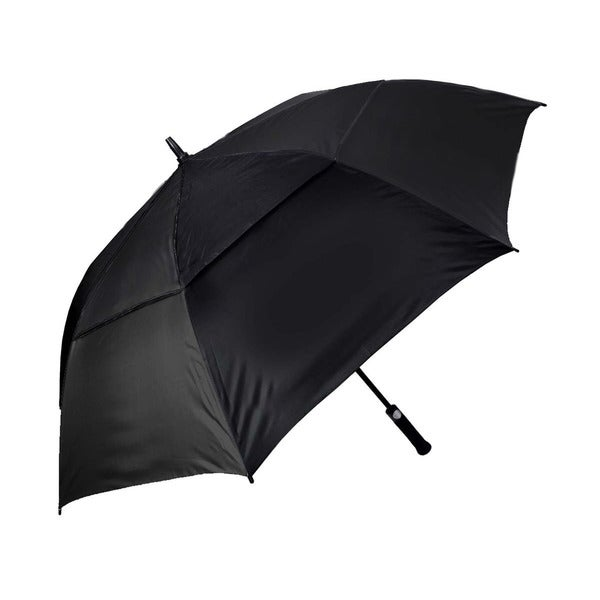 Orlimar Cyclone 62-inch Black Auto Opening UV Golf Umbrella