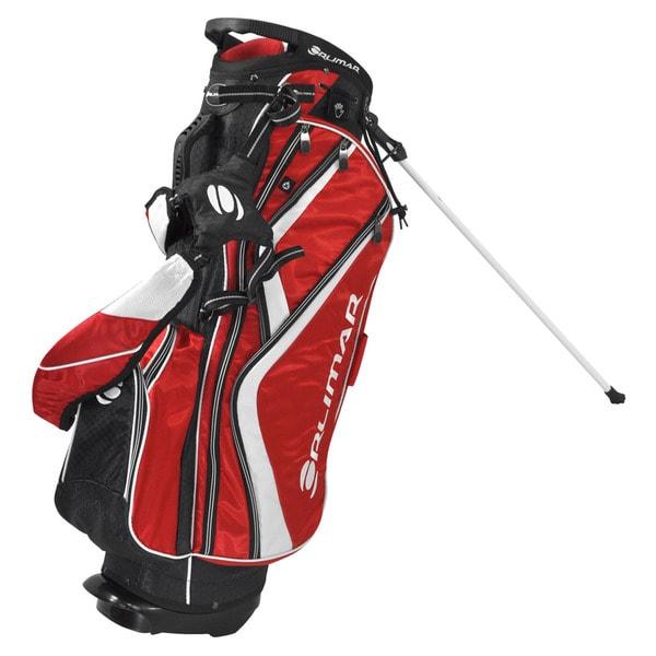 Orlimar Golf OS 7.8+ Red/ Black/ White Golf Stand Bag