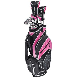 Orlimar ATS Right Hand Women's Flex Neon Pink Complete Golf Set