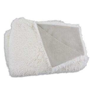 Shaggy Sand Suede 26x40-inch Throw Blanket
