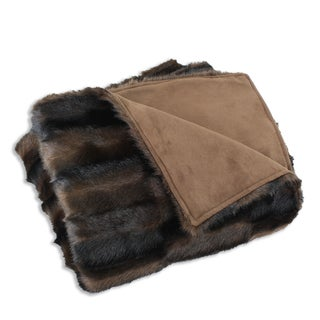 Taline Fur Throw Blanket (26 x 40)