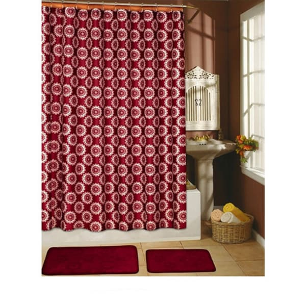 Country shower curtain sets 2