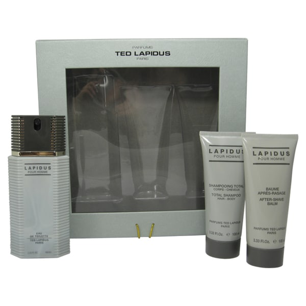 Ted Lapidus Men's 3-piece Fragrance Set