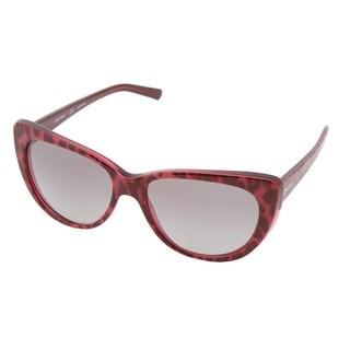 DKNY Women's 'DY4109' Oversized Plastic Sunglasses