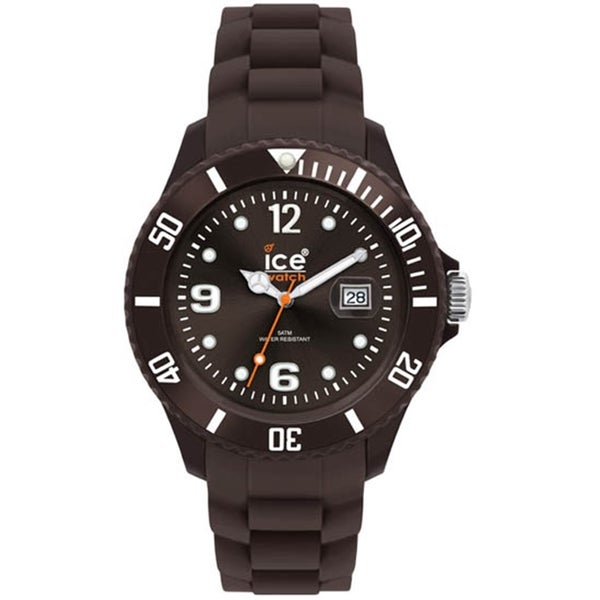 Ice-Watch Men's Chocolate CT.KC.B.S.10 Brown Silicone Quartz Watch with Brown Dial