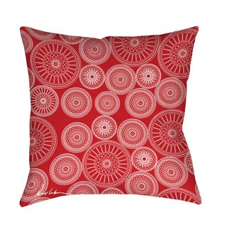 Thumbprintz Wheels Indoor/ Outdoor Decorative Throw Pillow
