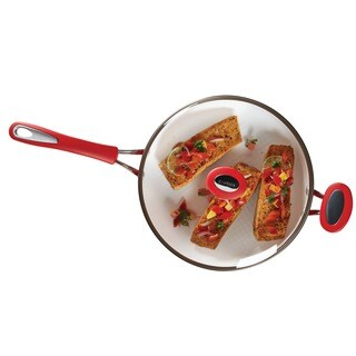 SilverStone Ceramic CXi Nonstick 4-quart Covered Saut� Skillet
