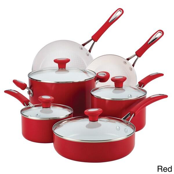 SilverStone Ceramic CXi Nonstick 12-piece Cookware Set ...