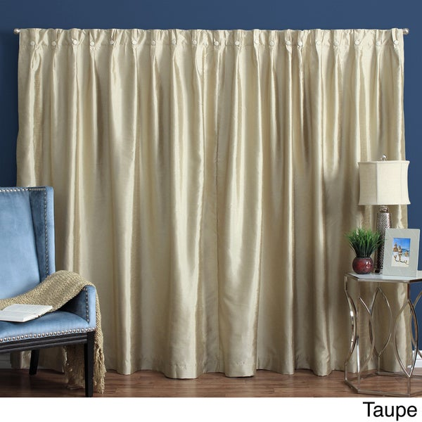 Artisan Box-pleated Back Tab Drapery Patio Panel