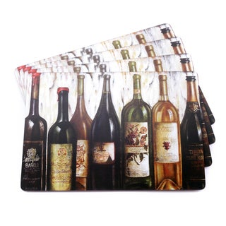 Italia Italian-inspired Scenic and Vino Placemats (Set of 4)