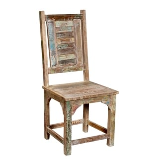 Rainforest Reclaimed Wood Shutter Chair