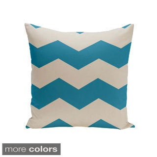 16 x 16-inch Chevron Print Decorative Throw Pillow