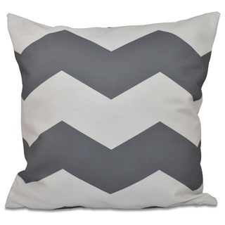 18 x 18-inch Large Chevron Print Decorative Throw Pillow