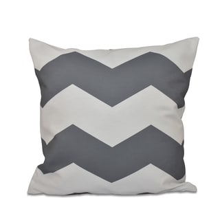 20 x 20-inch Large Chevron Print Decorative Throw Pillow