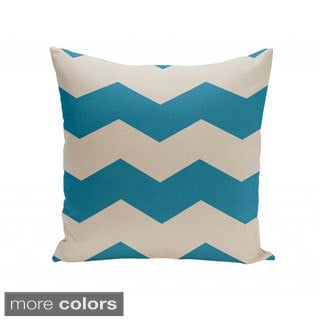 20 x 20-inch Chevron Print Decorative Throw Pillow