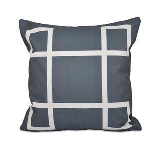 Geometric Decorative Throw Pillow (20x20)