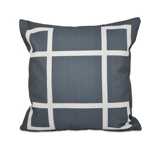 26 x 26-inch Large Geometric Print Decorative Throw Pillow