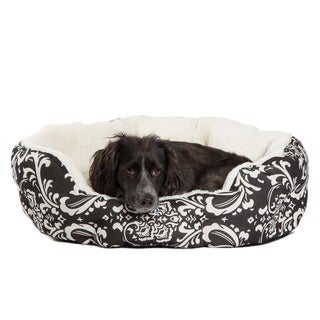 Best Friends by Sheri Duchess Black Amsterdam Cuddler Pet Bed
